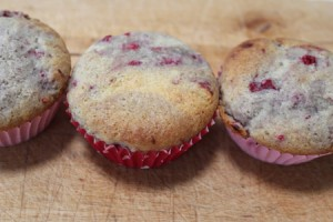 easy raspberry muffin recipe