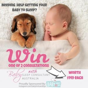 win a baby sleep consultation