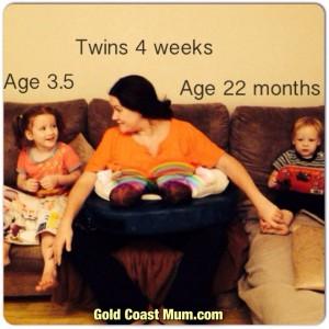 tandem breastfeeding - breastfeeding 4 under 4