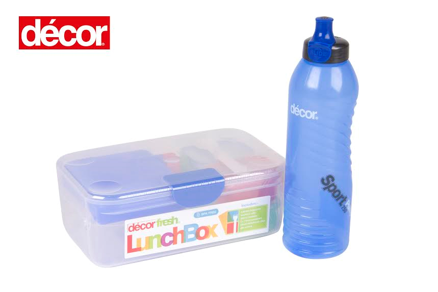 Decor Drink Bottles Custom Décor Lunchbox Pack Up For Grabs  Baby Hints And Tips Decorating Inspiration