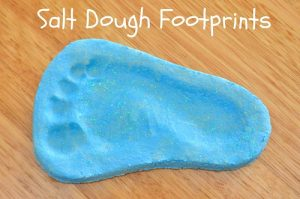 Footprints for Father's Day