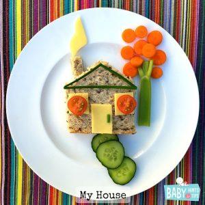 my house food art