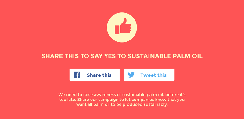 say yes to sustainable palm oil