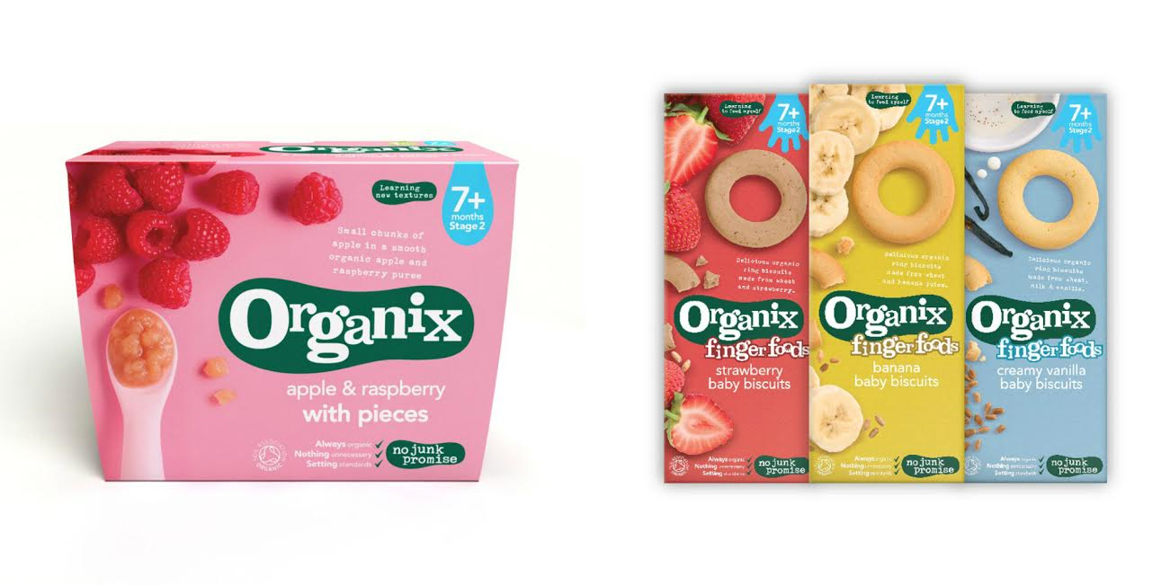 weaning with Organix