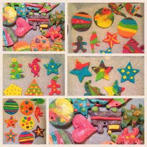Christmas Crafts For Toddlers - Salt Dough Ornaments