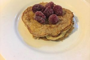 2 ingredient banana pancake recipe