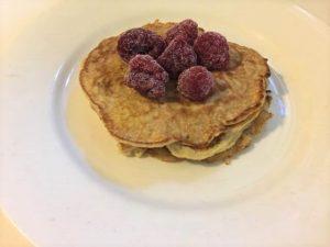 2 ingredient banana pancake recipe