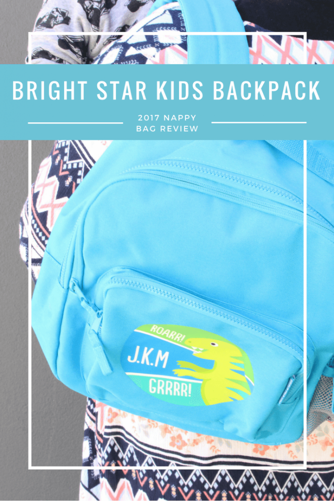 Bright Star Kids Personalised Backpack