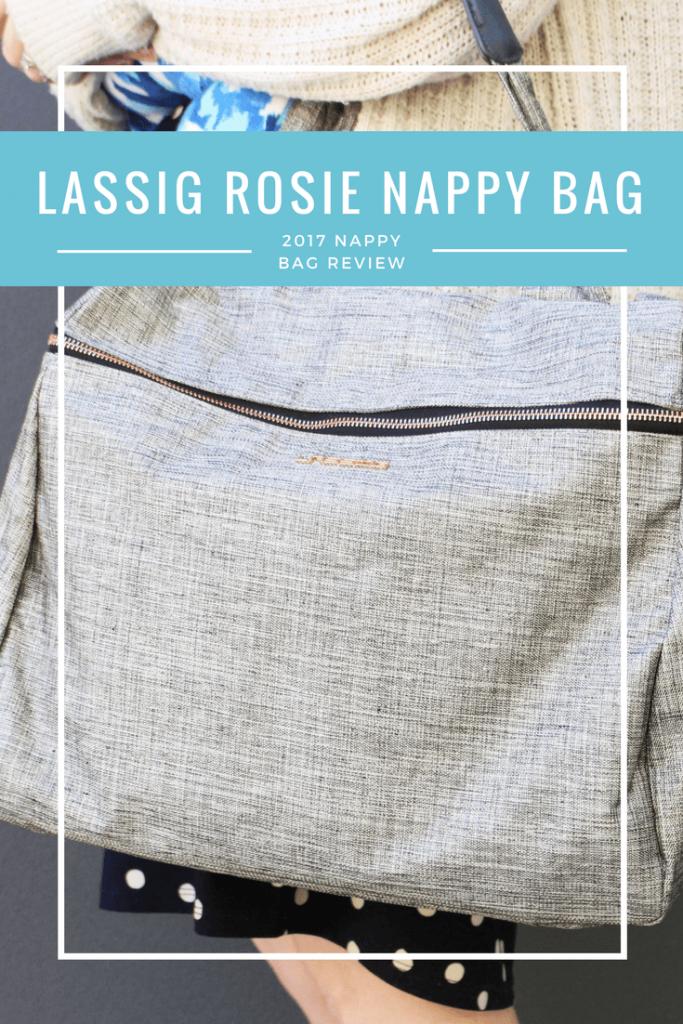 Lassig rosie nappy bag