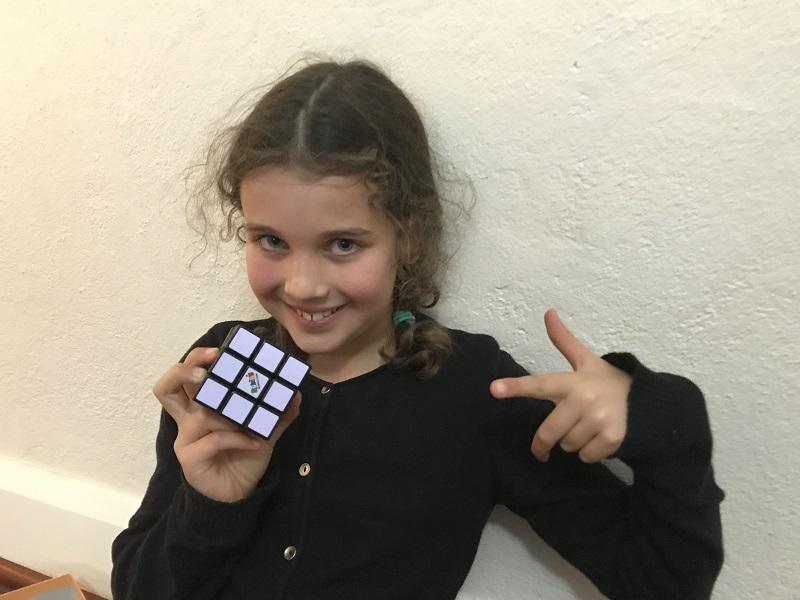 rubix's cube win