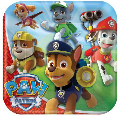 paw patrol party theme