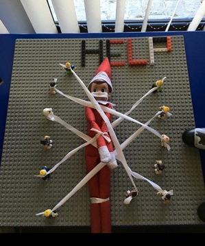 elf captured by lego