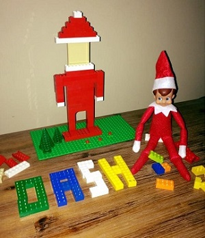 elf in the lego