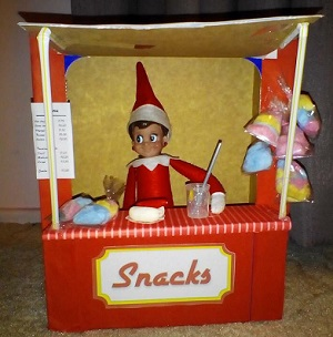 elf snack stand