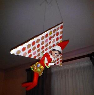 hang gliding elf