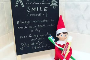Elf on the Shelf positive behaviour