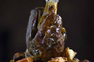 10 Minute Australia Day Recipe - Caveman Lamb