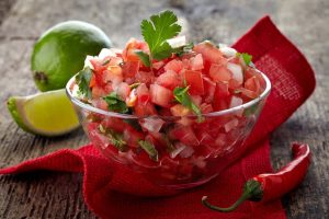 5 Minute Salsa Recipe - Easy Pico De Gallo Recipe