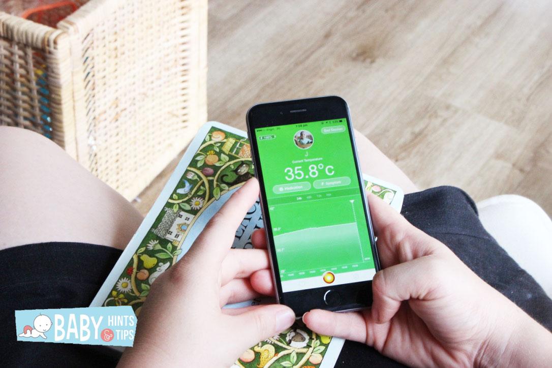 Nurofen Feversmart app