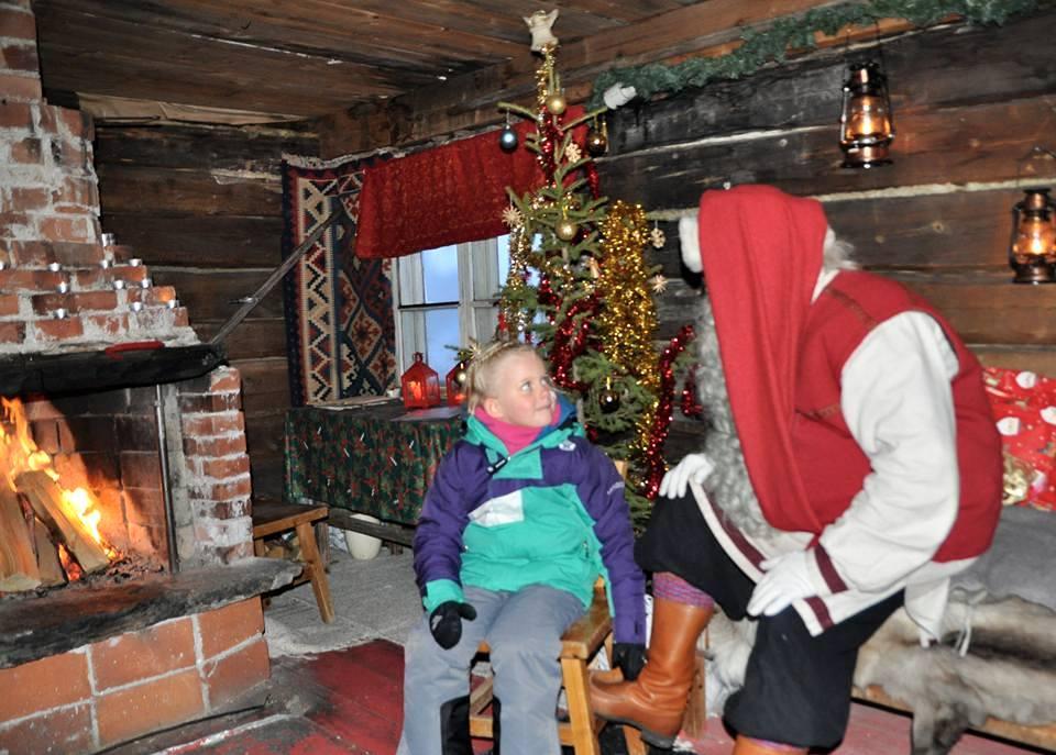 Santa's Shack, Lapland, Finland