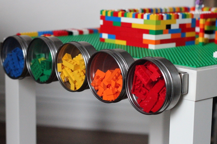 Kojo Designs DIY Lego Storage Table