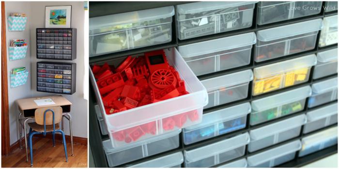 Screw sorter for Lego