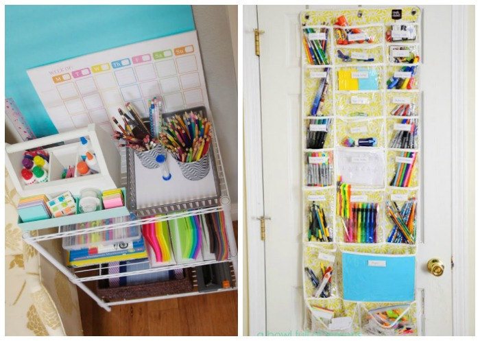 Hereu0027s Some Awesome Ideas For Homework And Stationary Organisation To End  The Drama When That Project Is Due!
