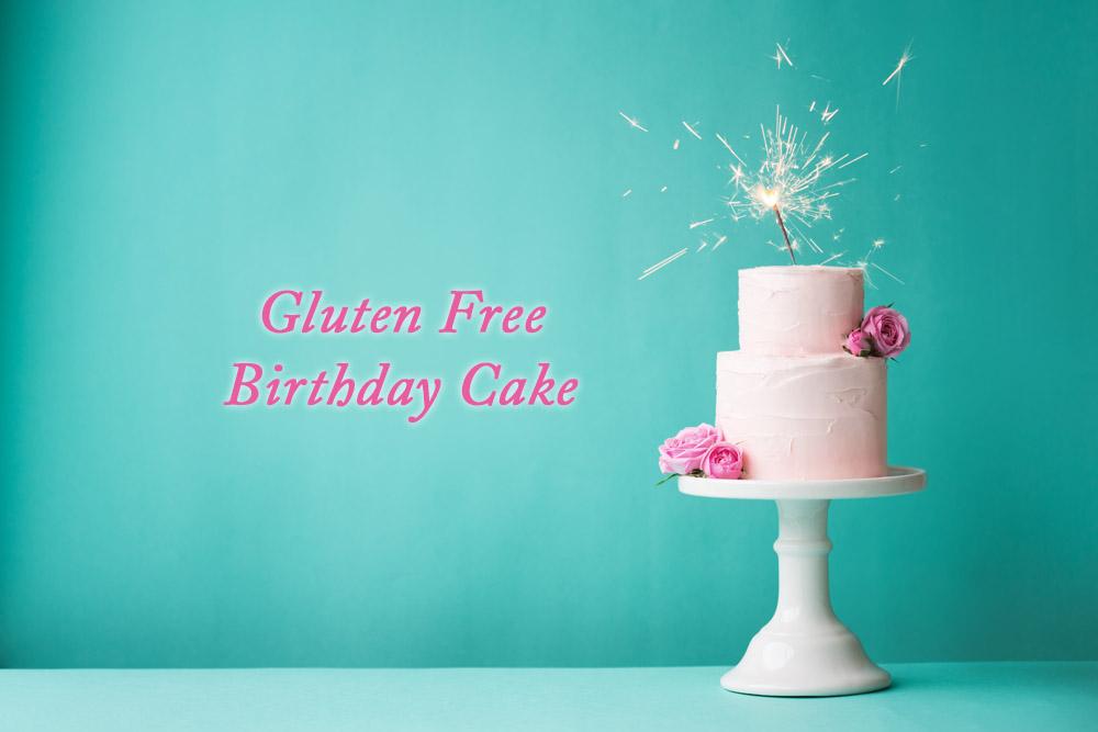 Easy Gluten Free Birthday Cake Recipe 4 Ingredient Sponge Cake