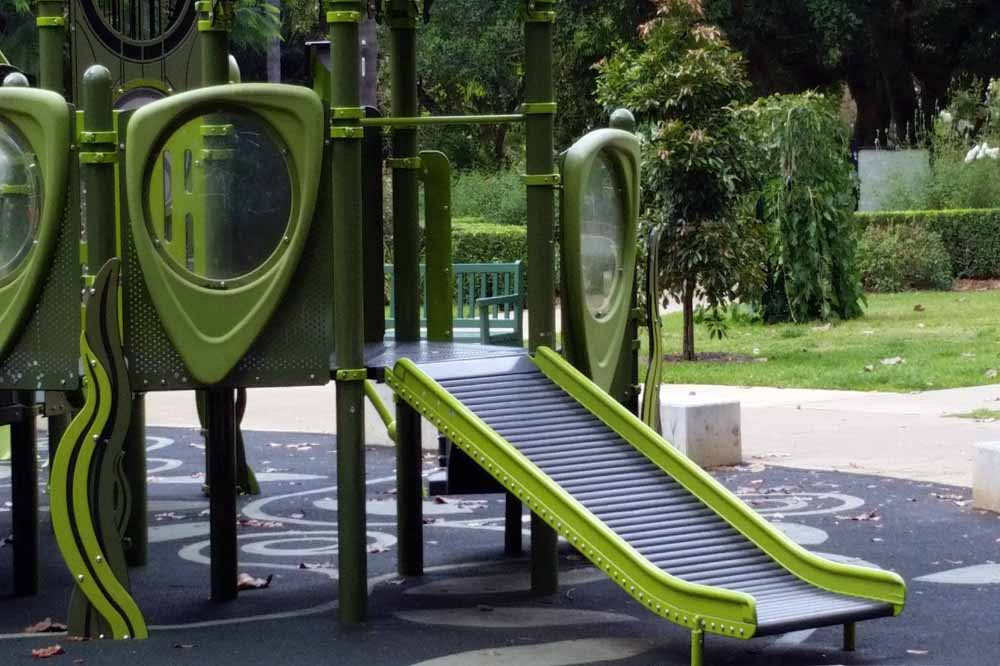 Toddler Slide at Brisbane Botanical Gardens