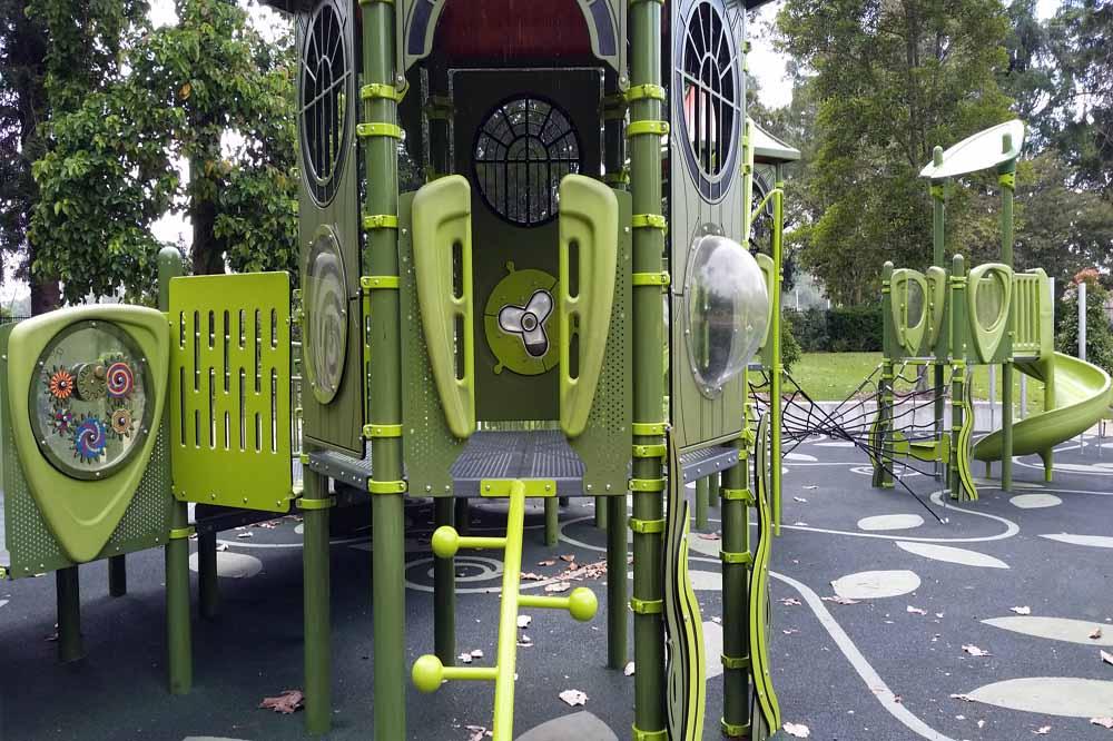 Climbing Gym at Brisbane Botanical Gardens
