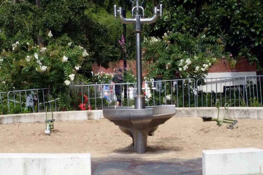 Sandpit at Brisbane Botanical Gardens