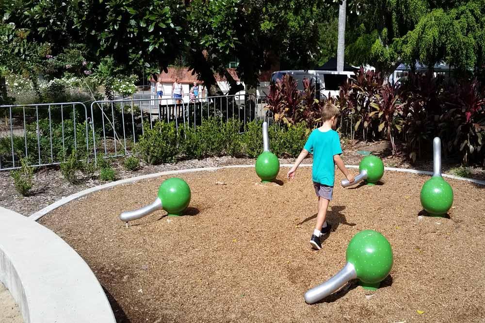 Play Area at brisbane Botanical Gardens