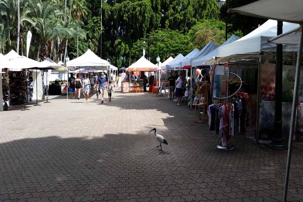 Brisbane Botanical Gardens Sunday Markets
