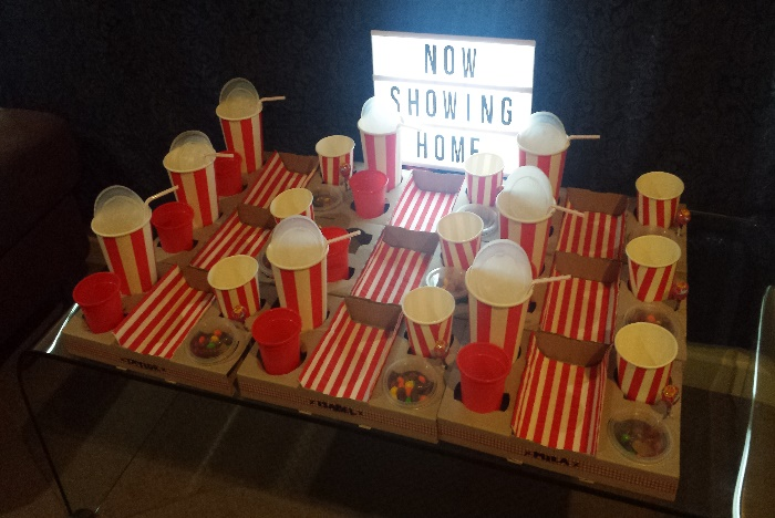 Movie Party Ideas - Low Cost Kids Birthday Party Idea