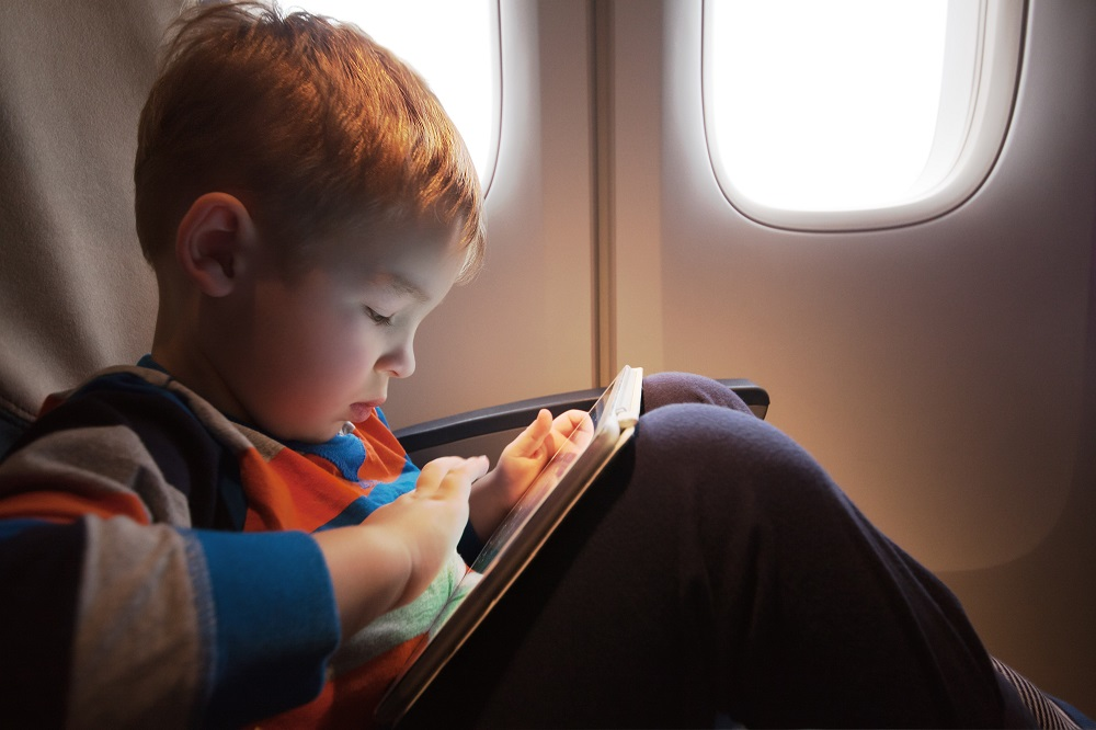 ipads for travel with kids