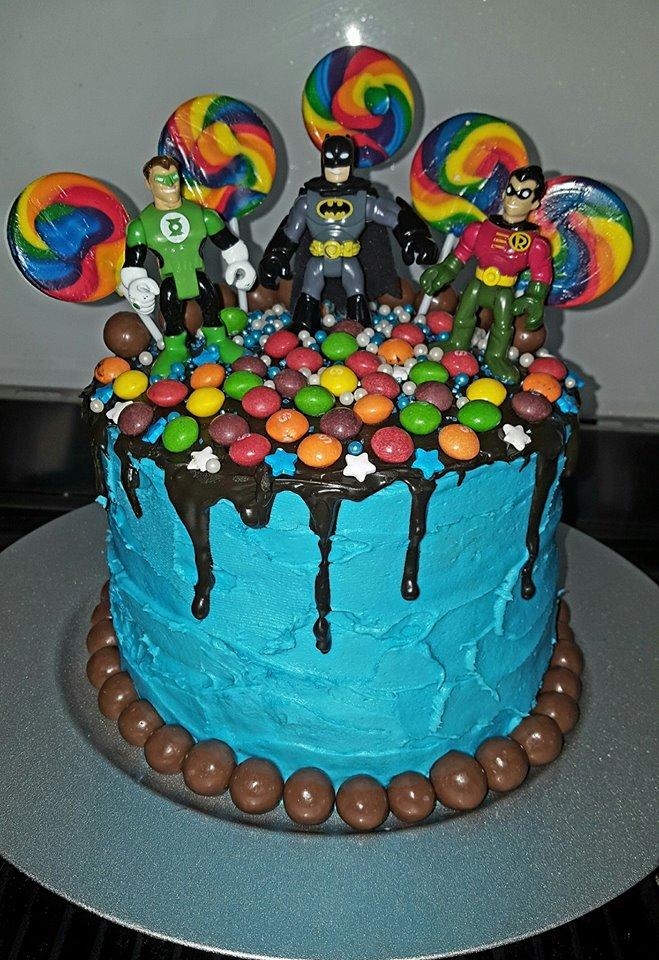woolworths cakes superheros lollipops