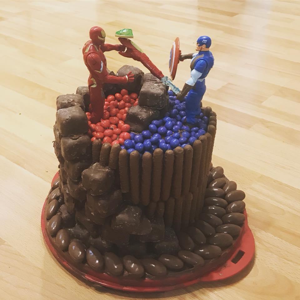 wooloworths cakes superhero cake chocolate