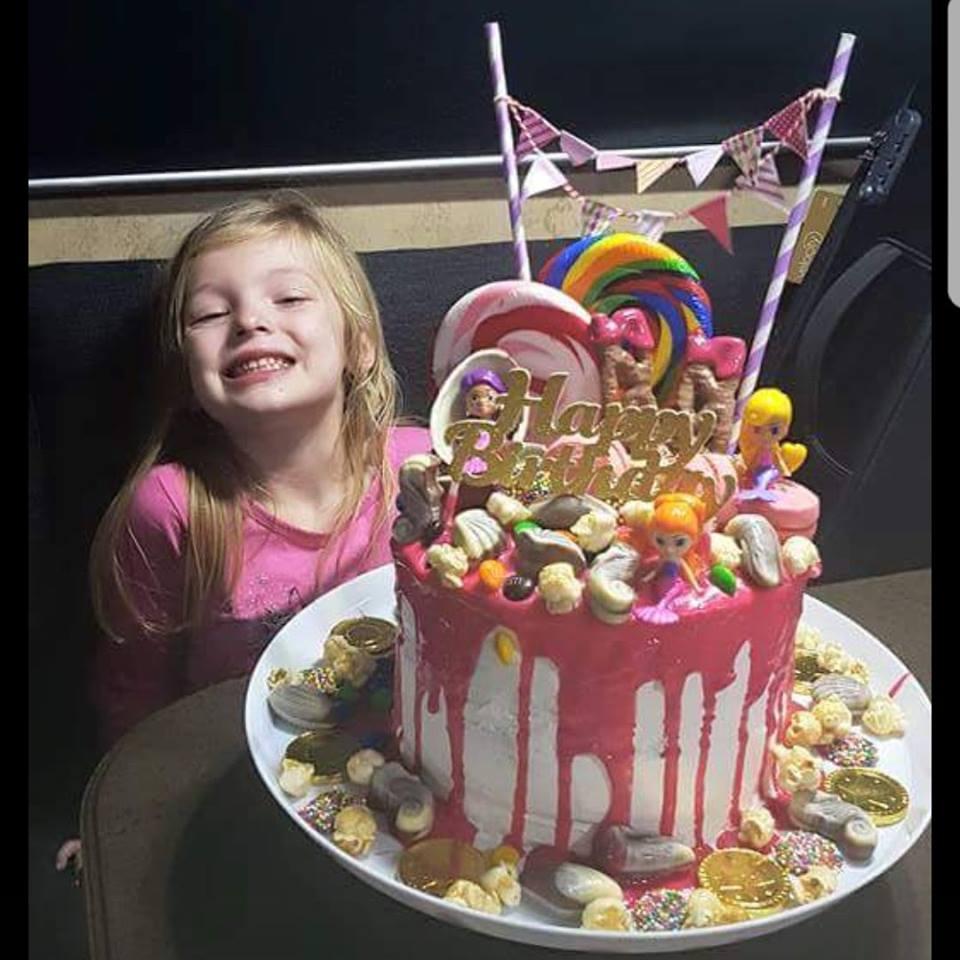 woolworths cakes lollipop mermaid theme