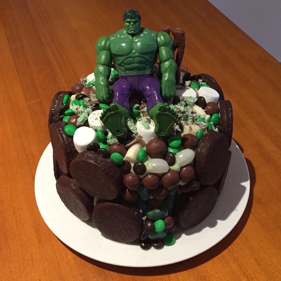 woolworths cakes hulk mint chocolate