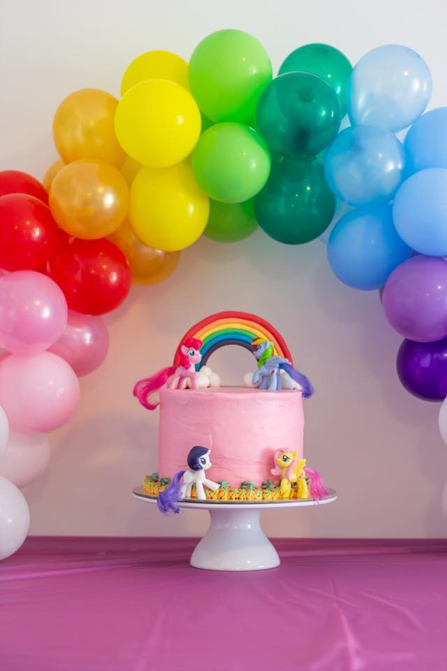 Woolworths cake for kids rainbow birthday party