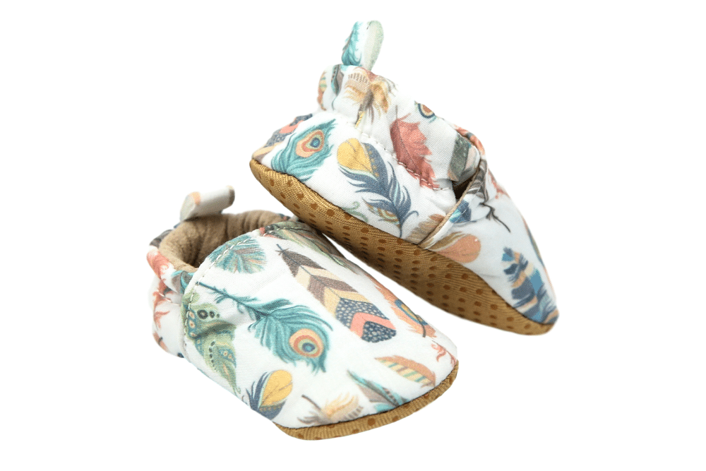 baby moccassins - bespoke baby gifts