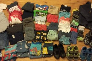 Kids clothes organisation