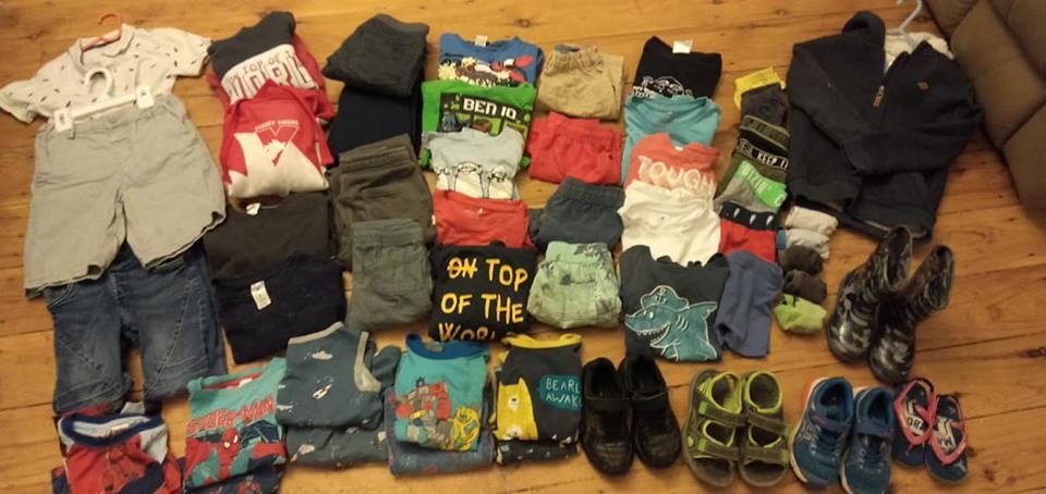 Kids clothes organisation