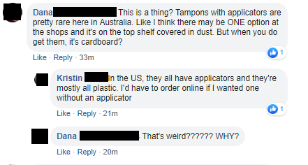 Tampon Shocks Americans
