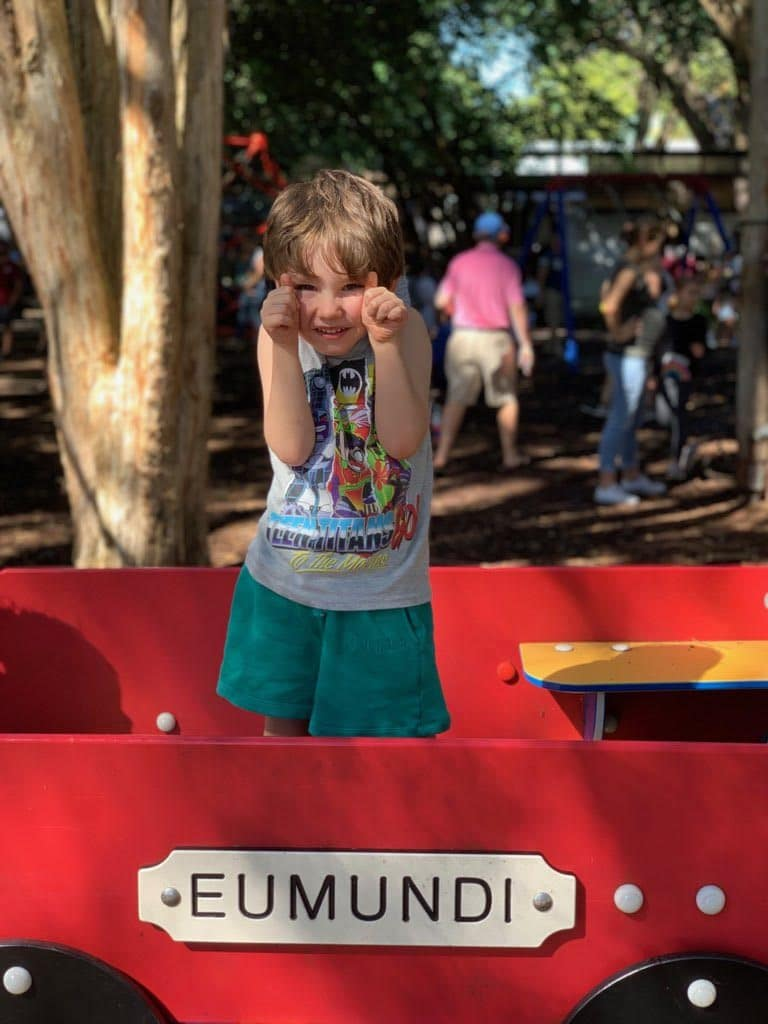 Eumundi Markets Noosa Australia with kids