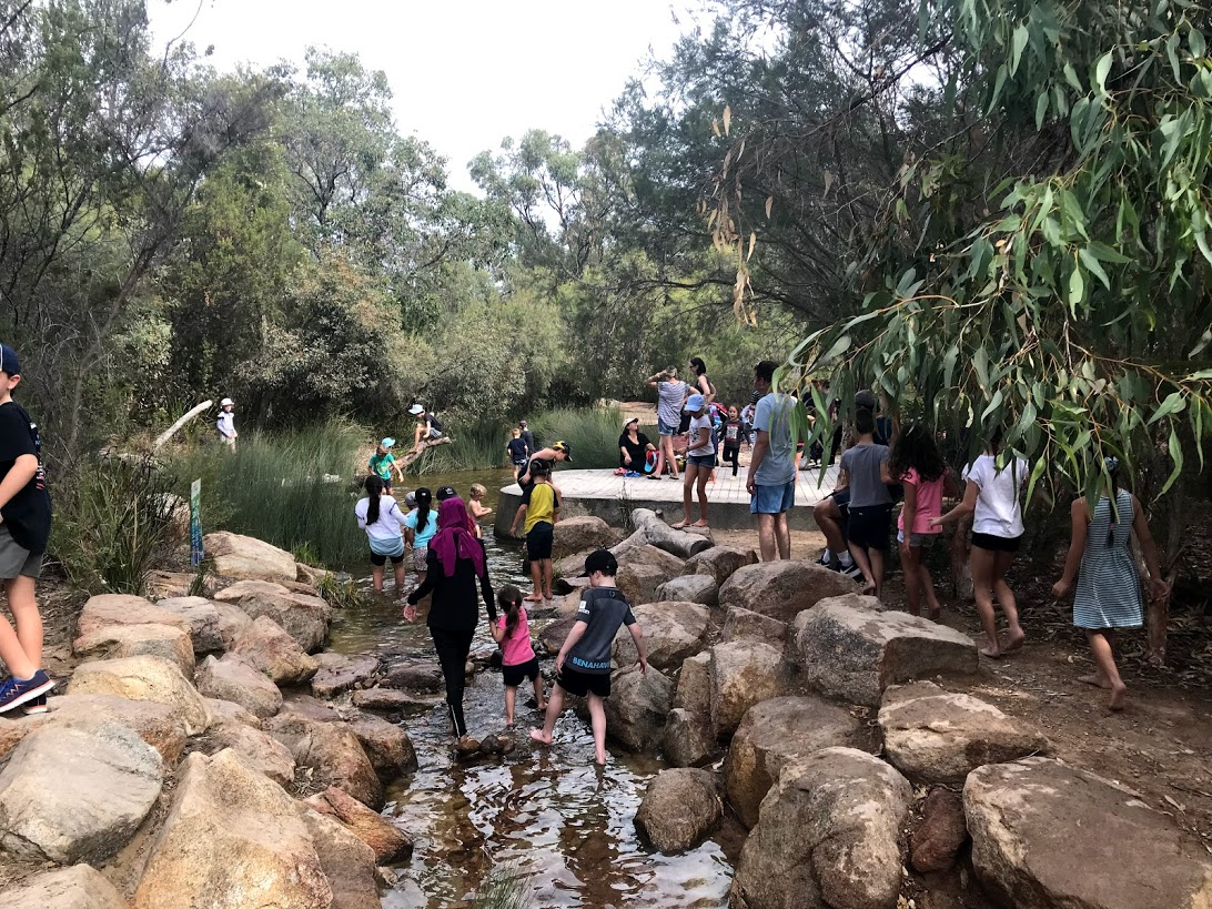 Naturescape Kings Park Perth water play for kids