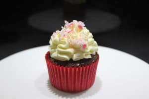 candy cane crush cupcakes