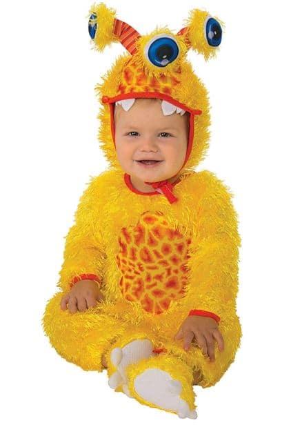 monster costume for Halloween for baby