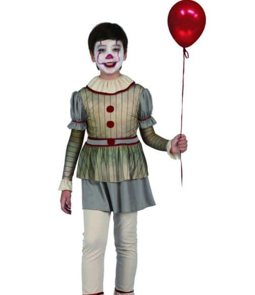 pennywise clown costume for Halloween