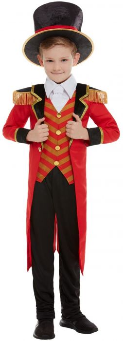 Ringmaster halloween costume for kids
